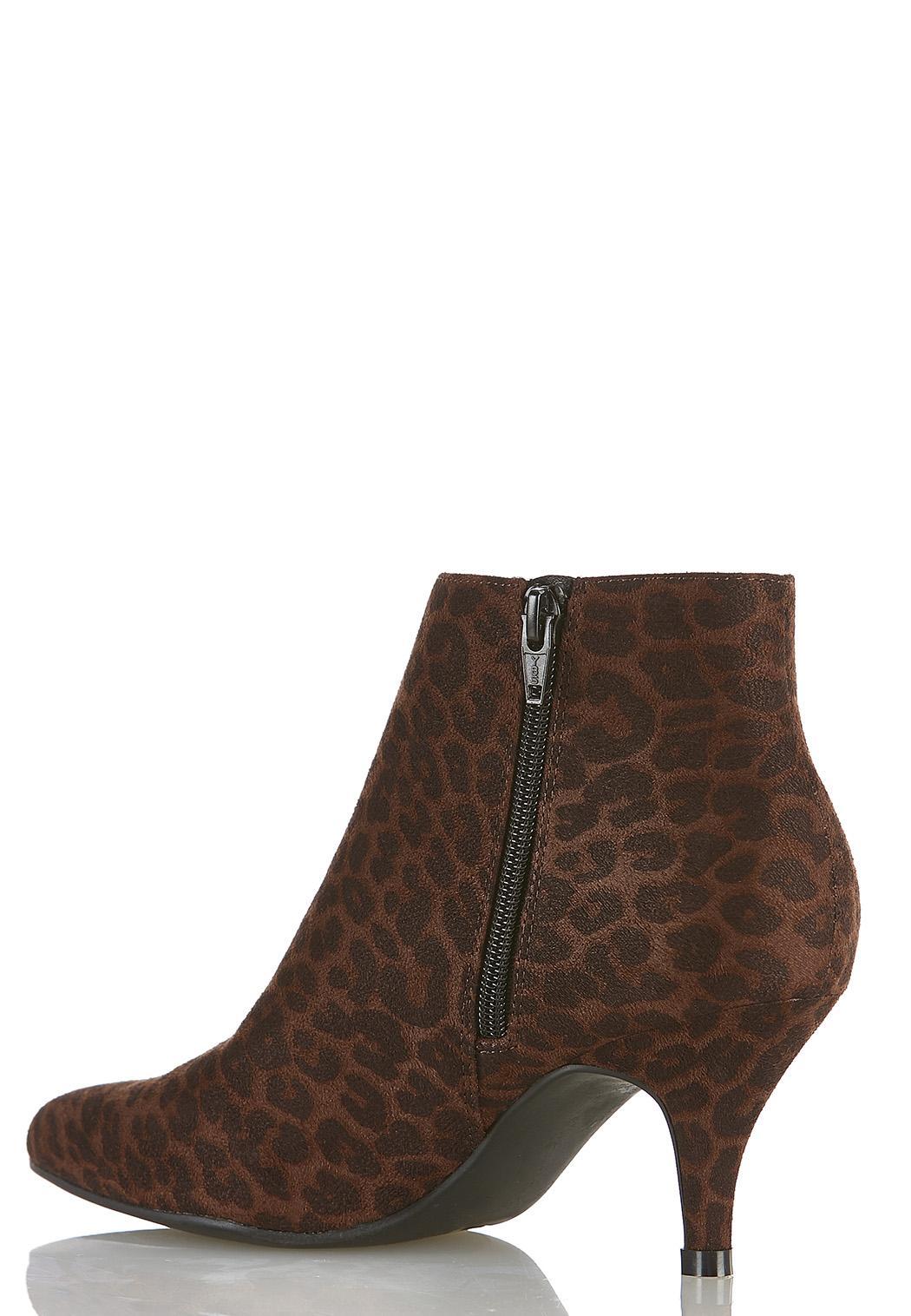 Leopard Stretch Gore Booties  (Item #44393662)