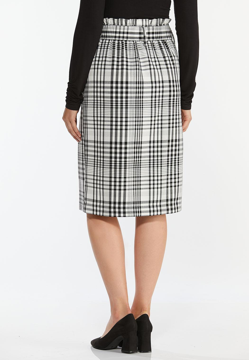 Checkered Pencil Skirt (Item #44393886)