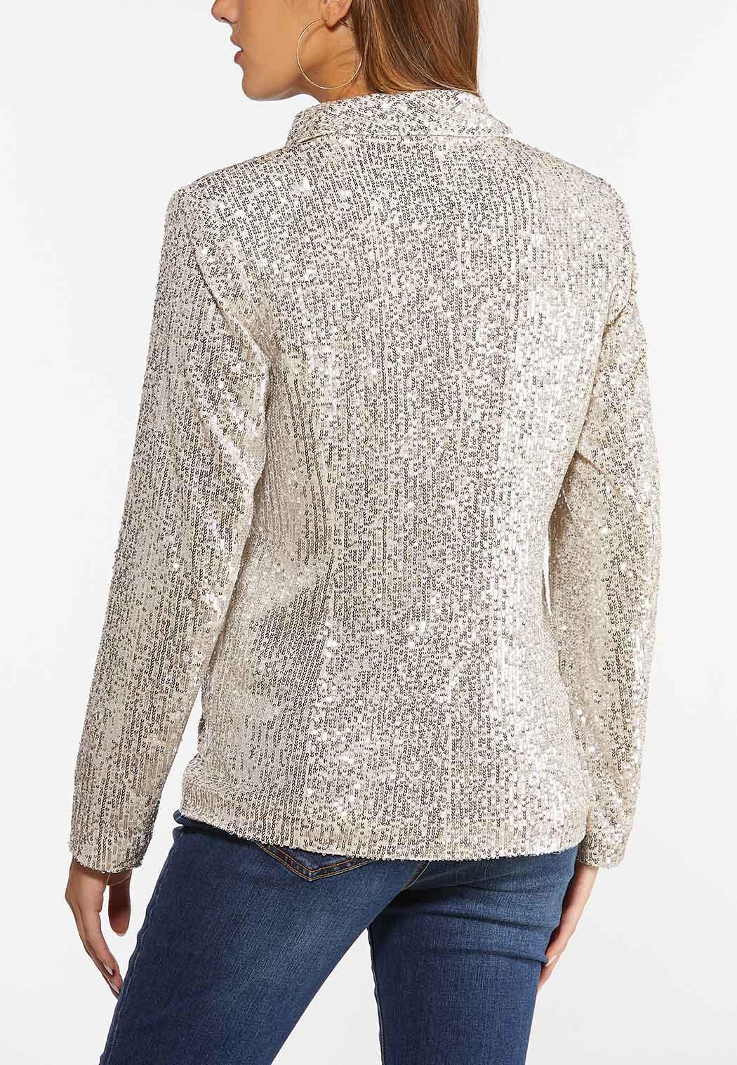 Champagne Sequin Jacket (Item #44396959)