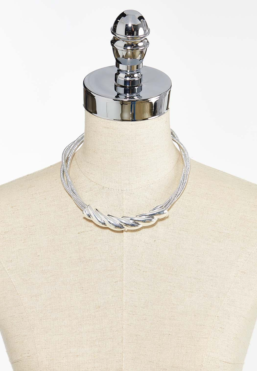 Twisted Collar Necklace (Item #44397483)