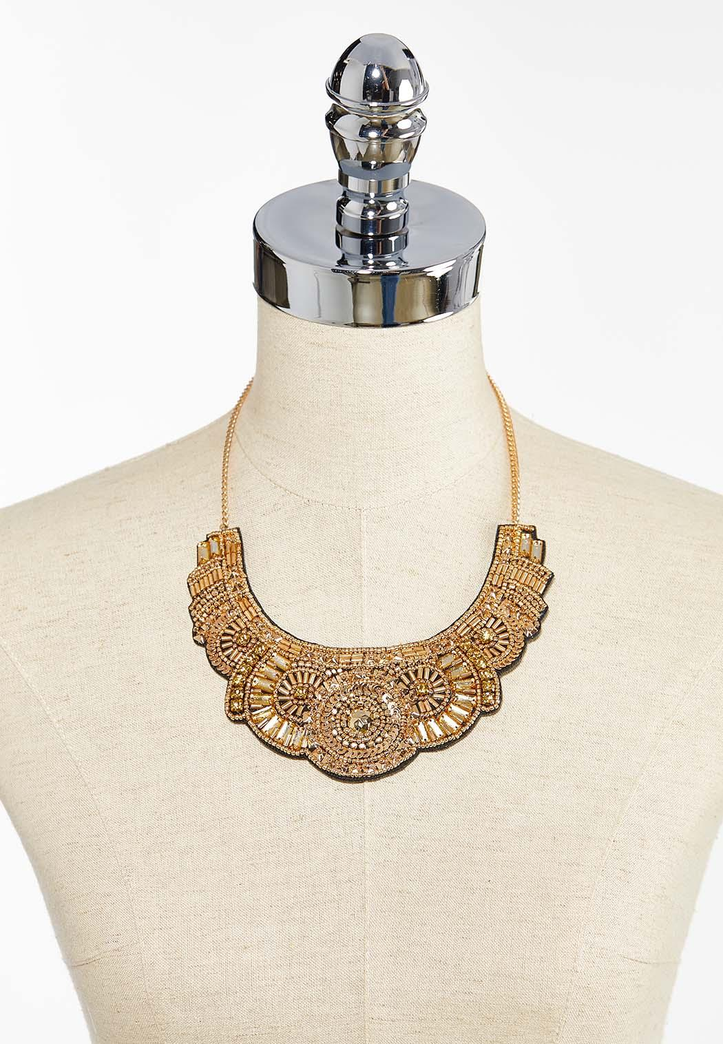 Gold Shield Necklace (Item #44397619)