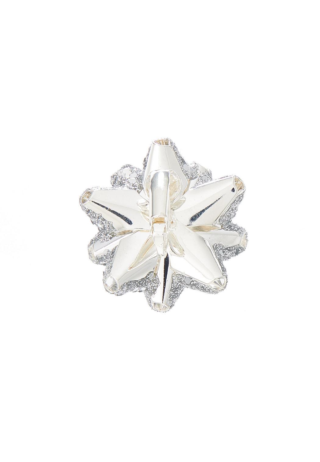 Silver Bow Earrings (Item #44398595)