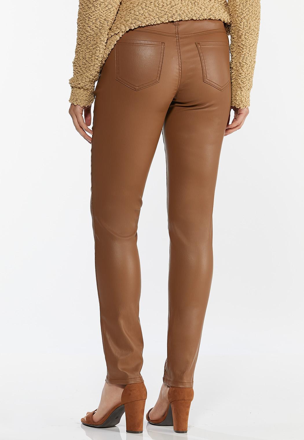 Caramel Coated Skinny Jeans (Item #44401705)