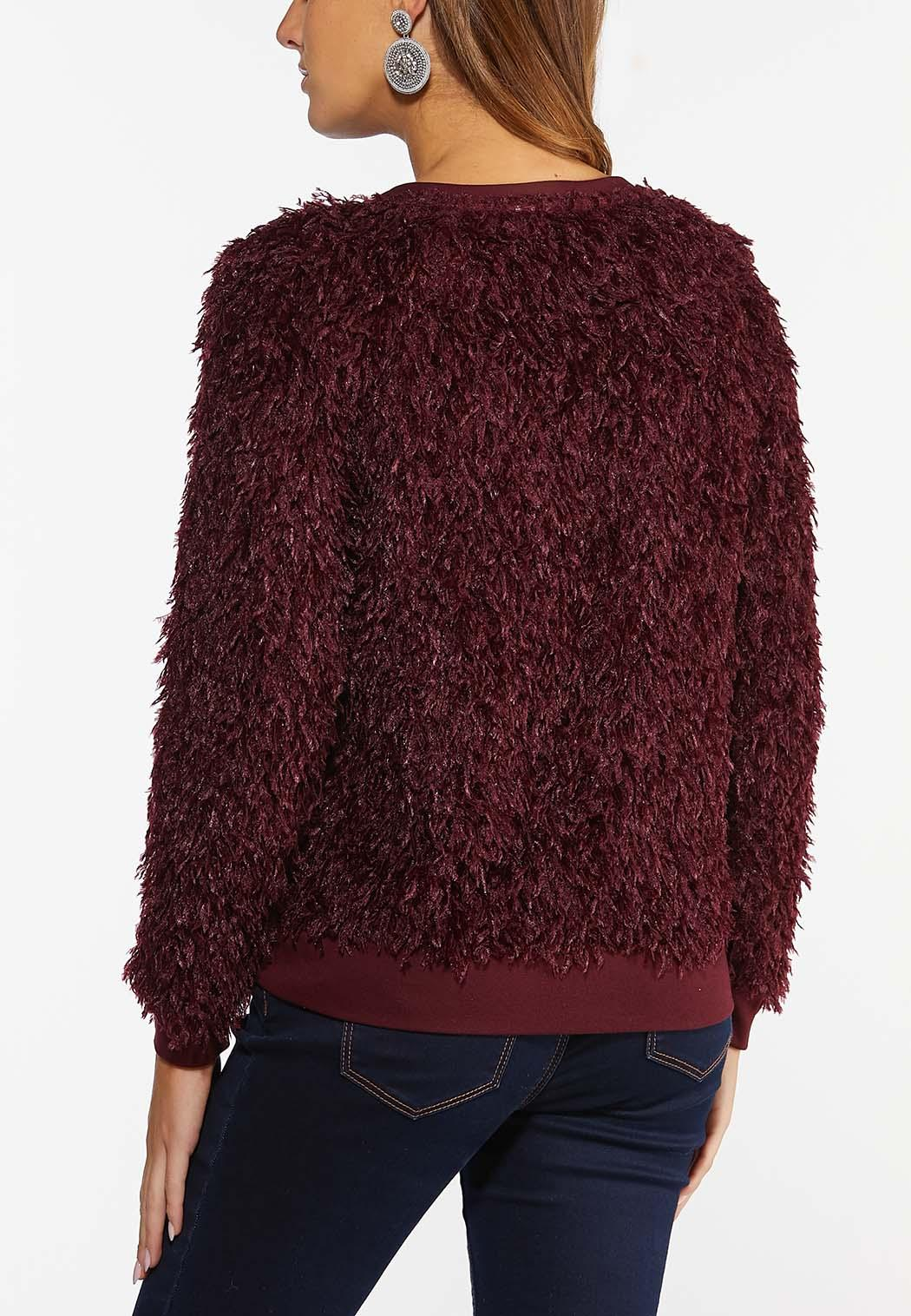 Plus Size Wispy Feather Top (Item #44402279)