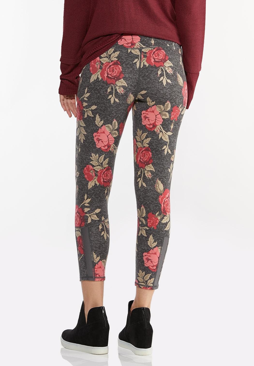 Rose Floral Leggings (Item #44404925)