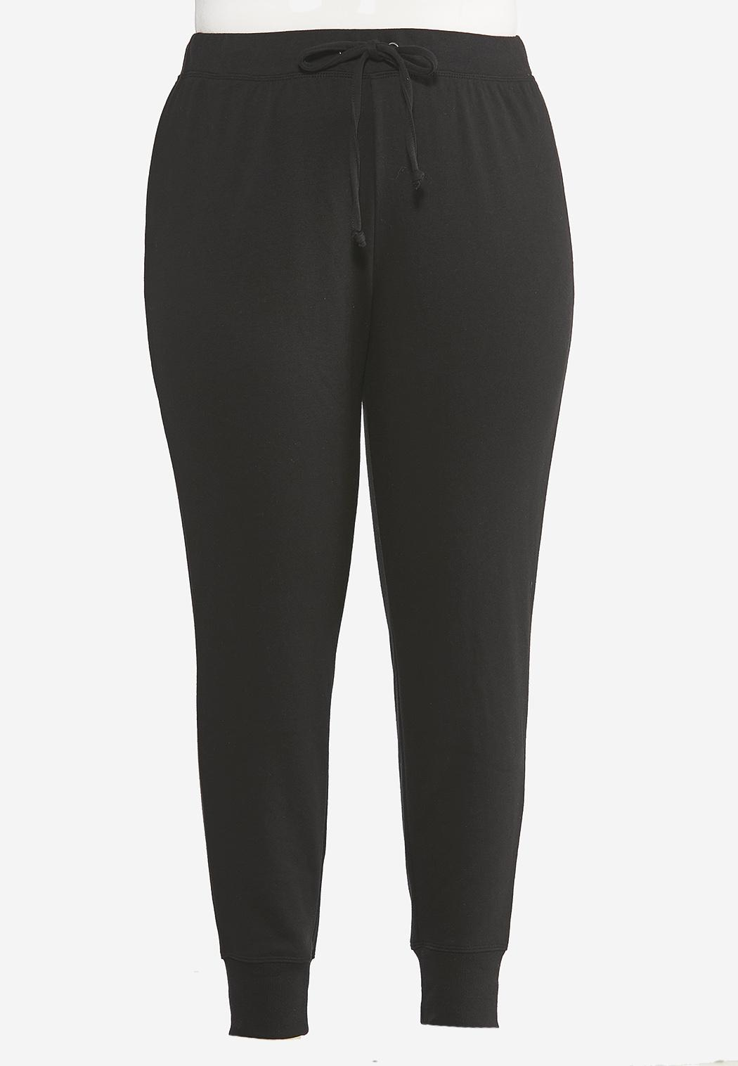 Plus Size French Terry Joggers (Item #44405005)