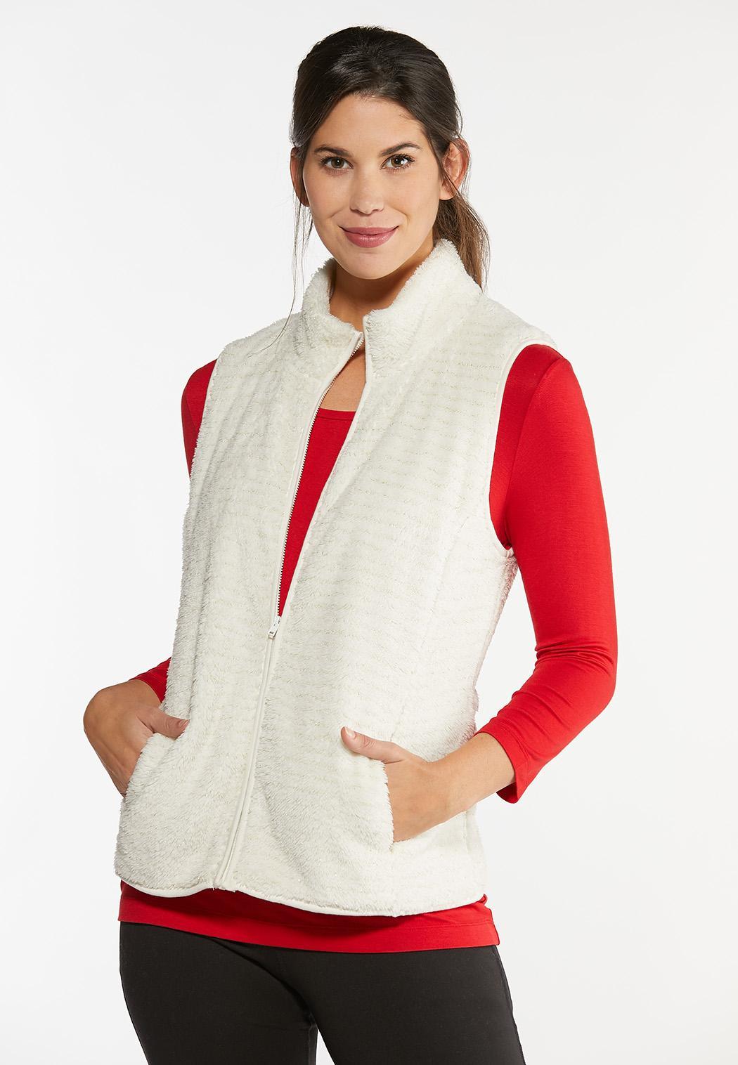 Cozy Gold Fleck Vest (Item #44406214)