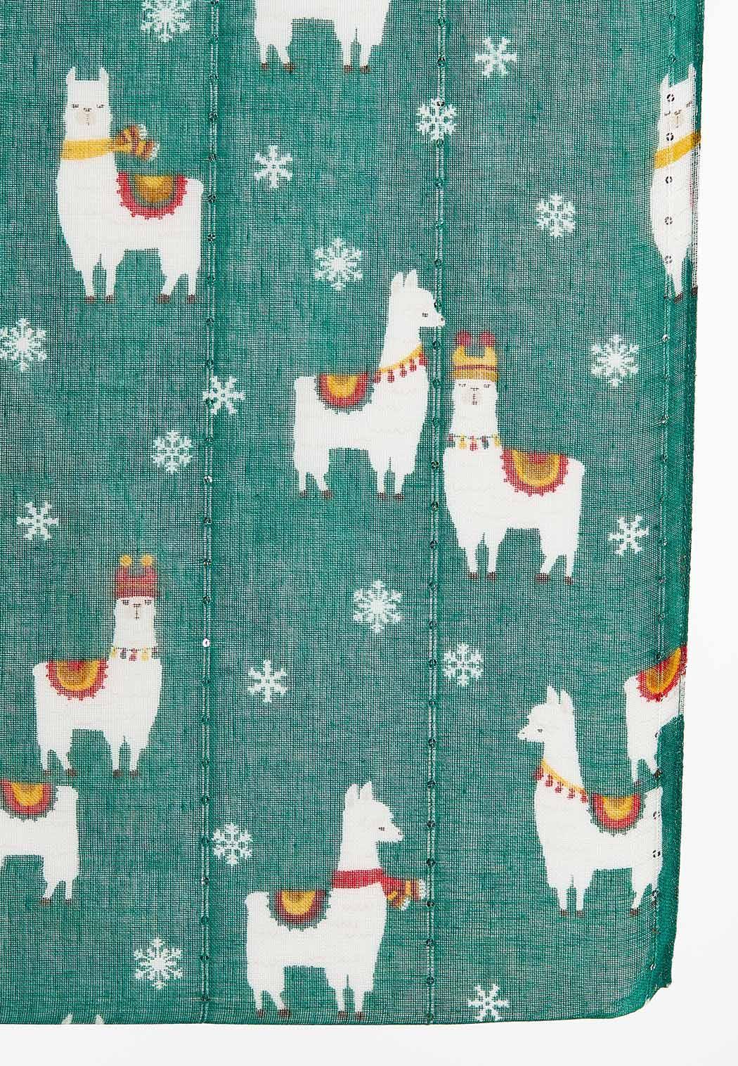 Festive Llama Infinity Scarf (Item #44406644)