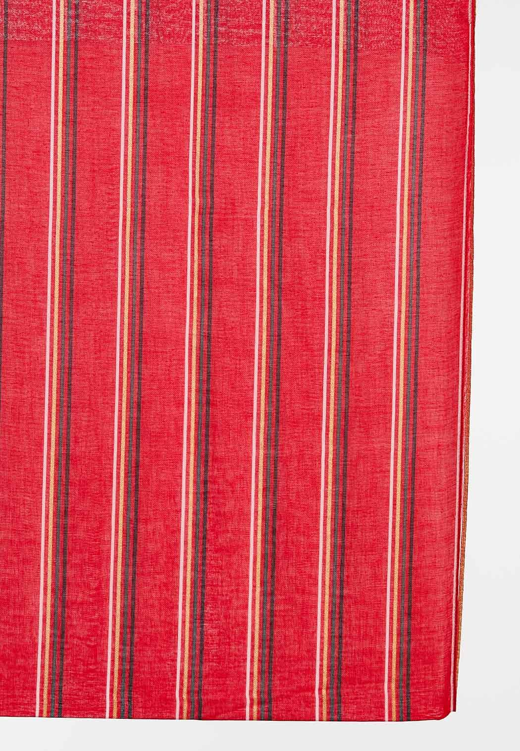 Red Striped Infinity Scarf (Item #44406749)
