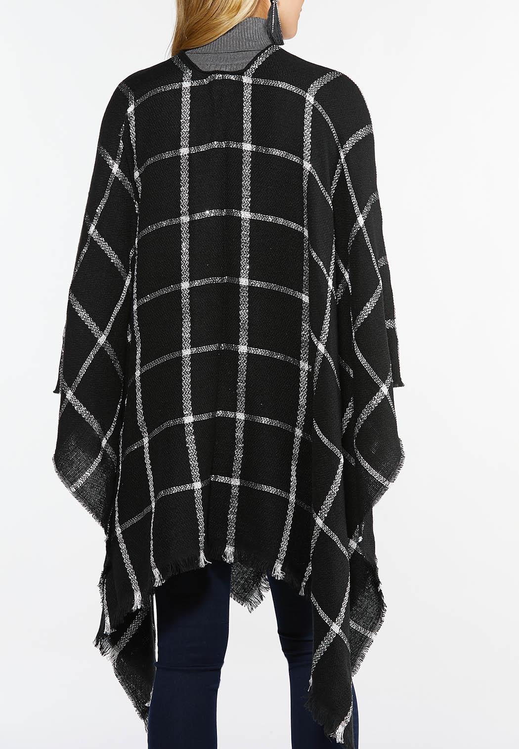 Sequin Checkered Wrap (Item #44407109)