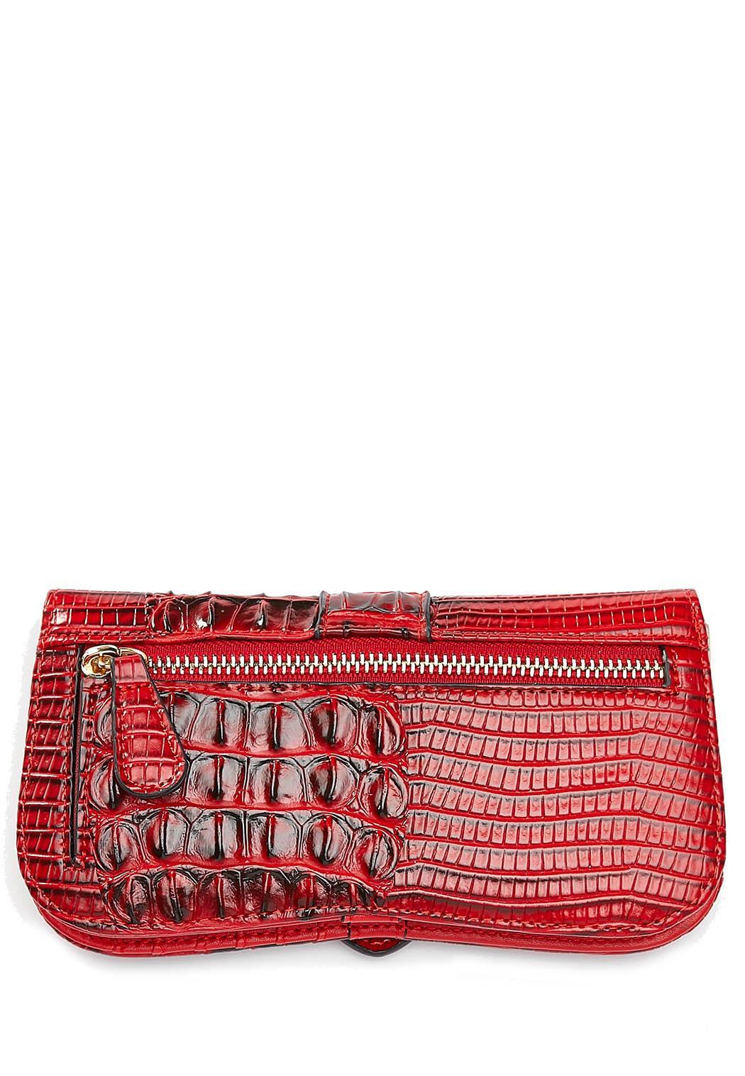 Red Croco Wallet (Item #44407713)