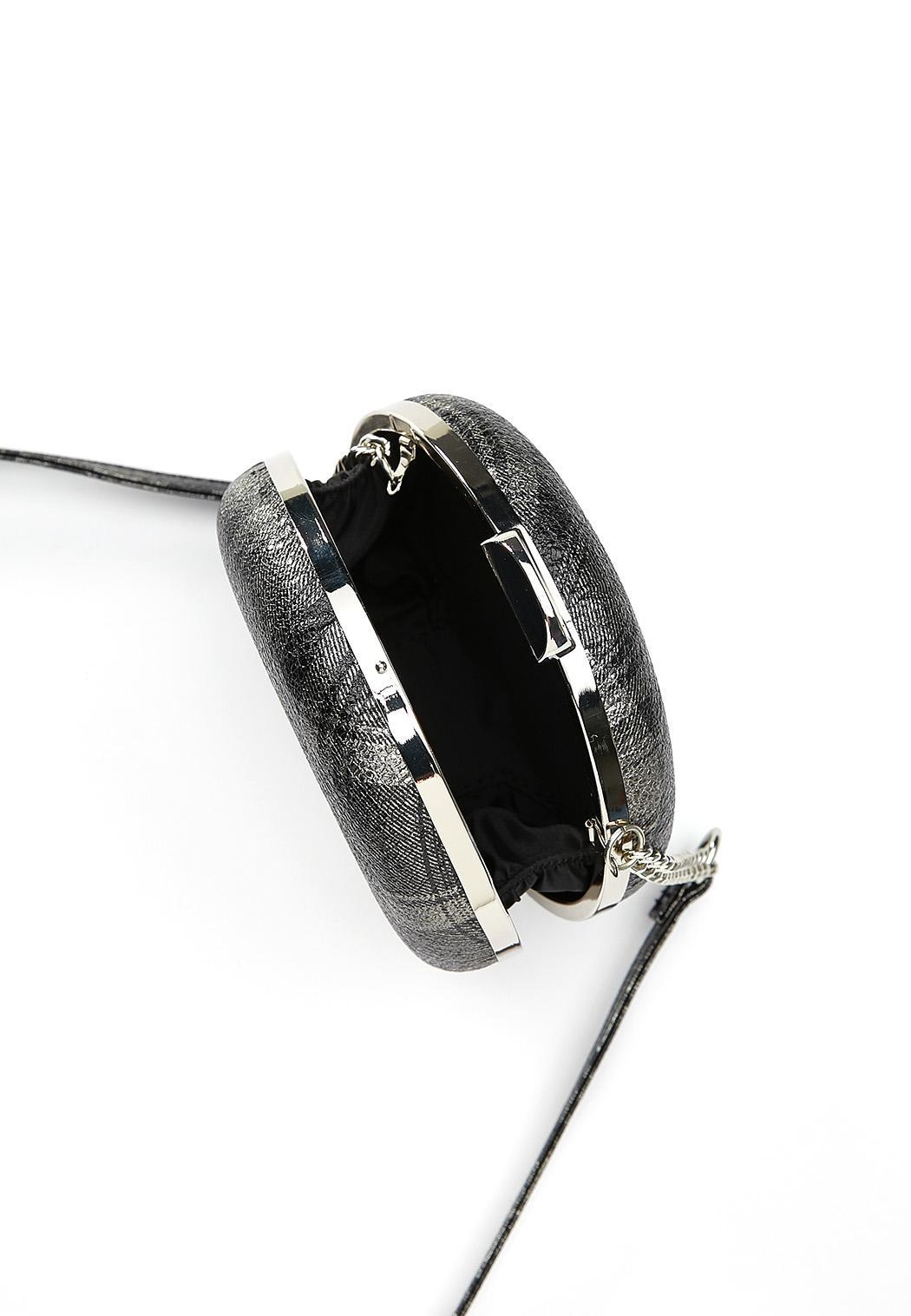 Plaid Circle Crossbody Bag (Item #44407752)