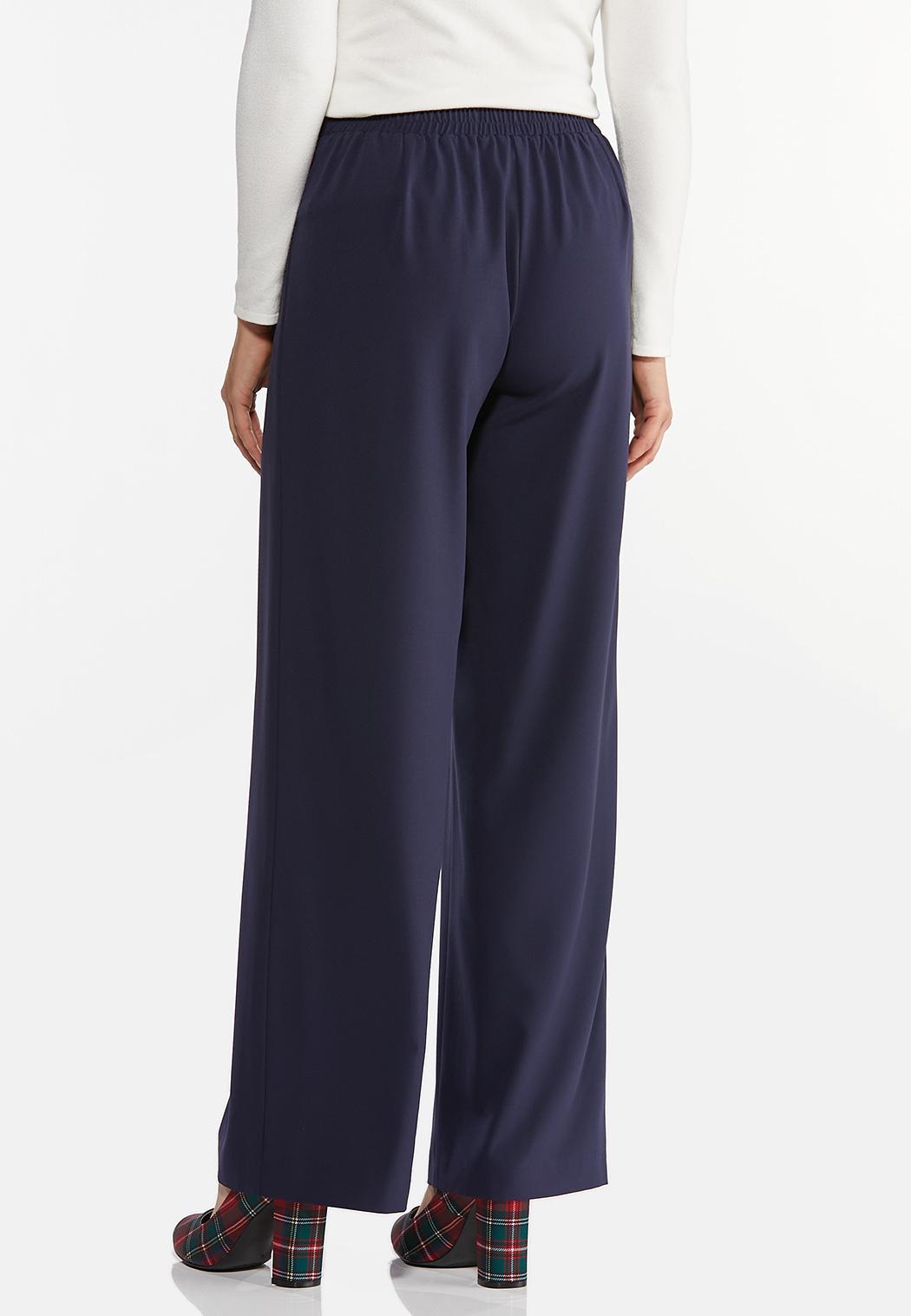 Belted Wide Leg Pants (Item #44411572)