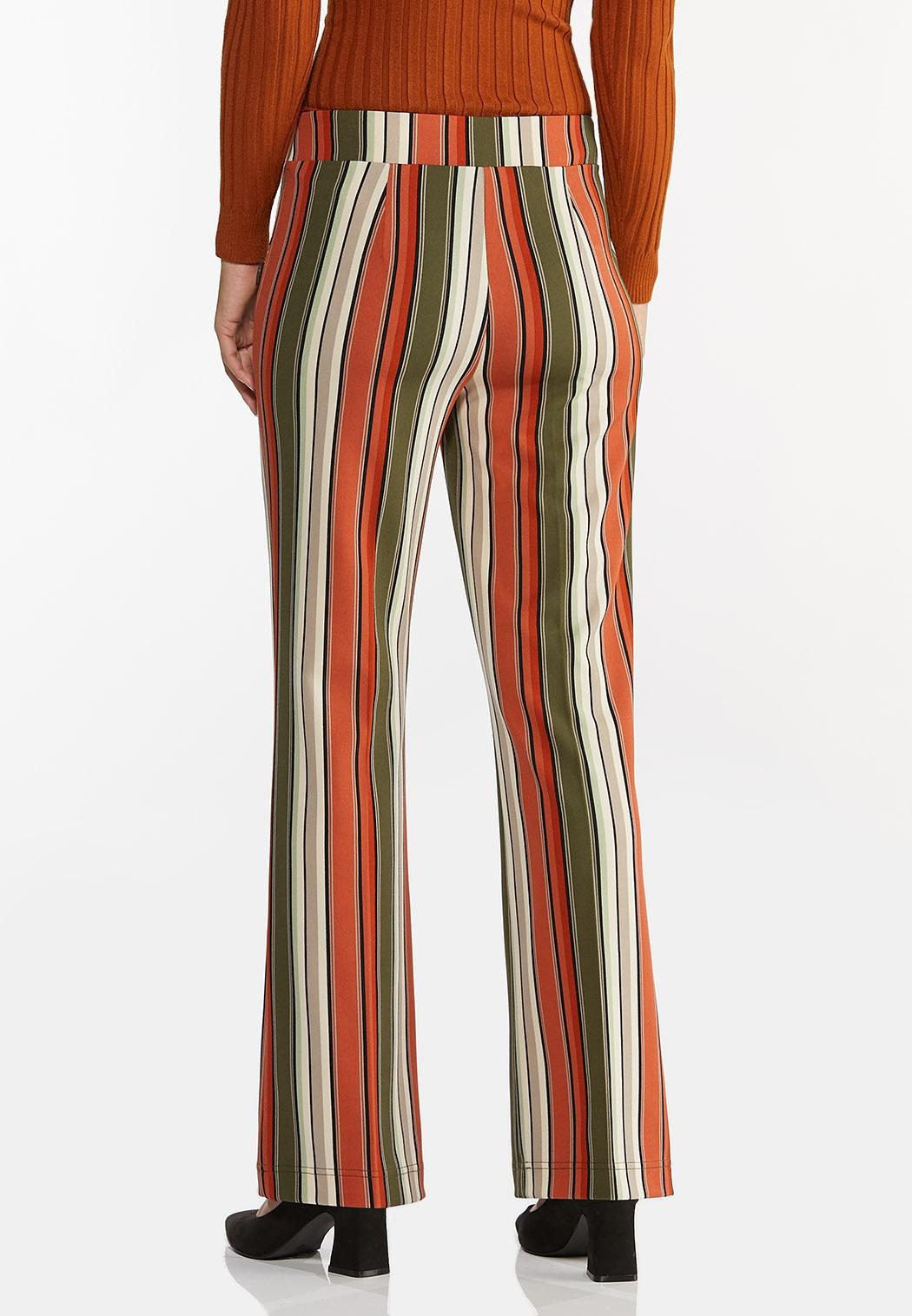 Spicy Striped Wide Leg Pants (Item #44411634)