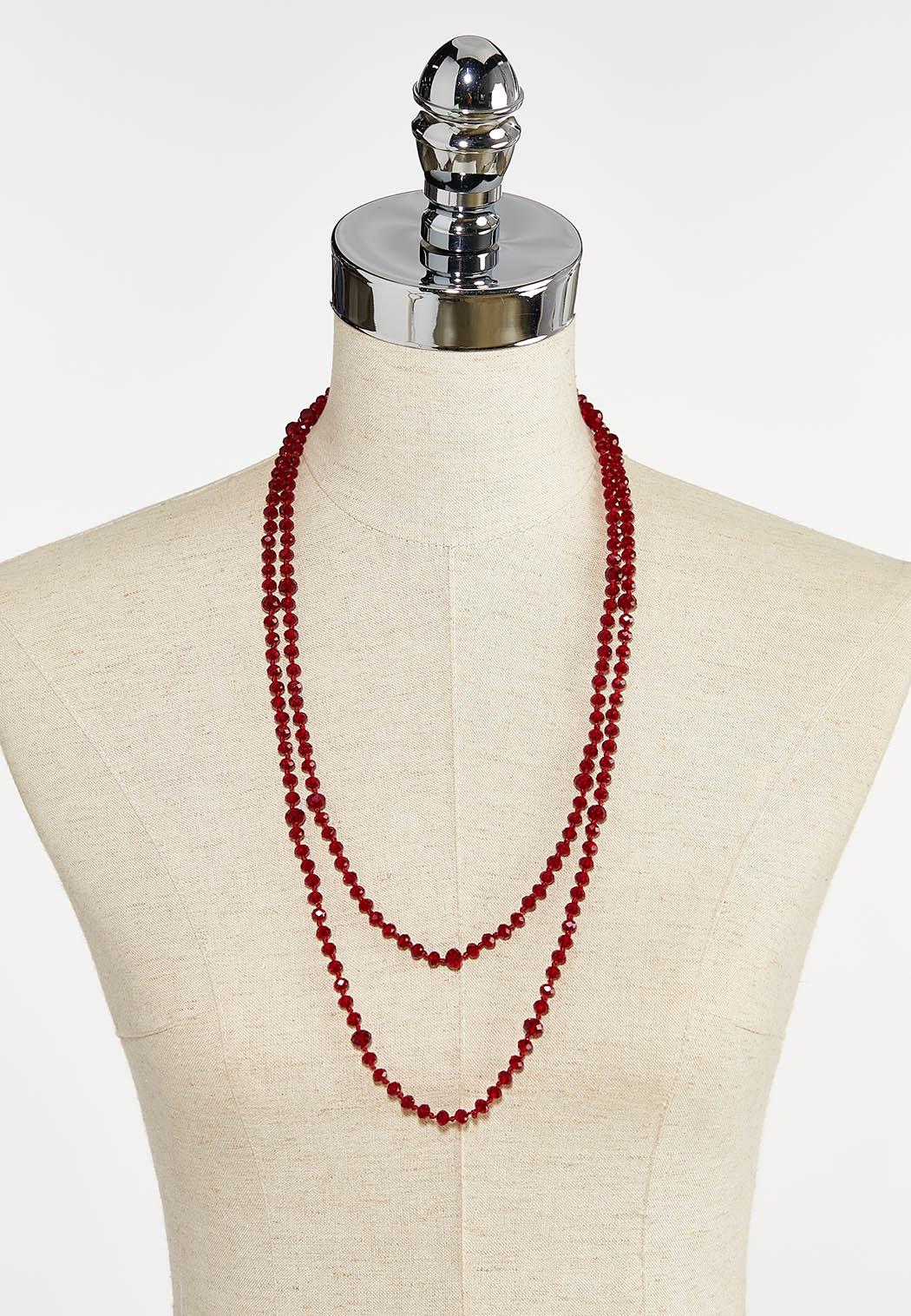 Rondelle Bead Necklace (Item #44413256)