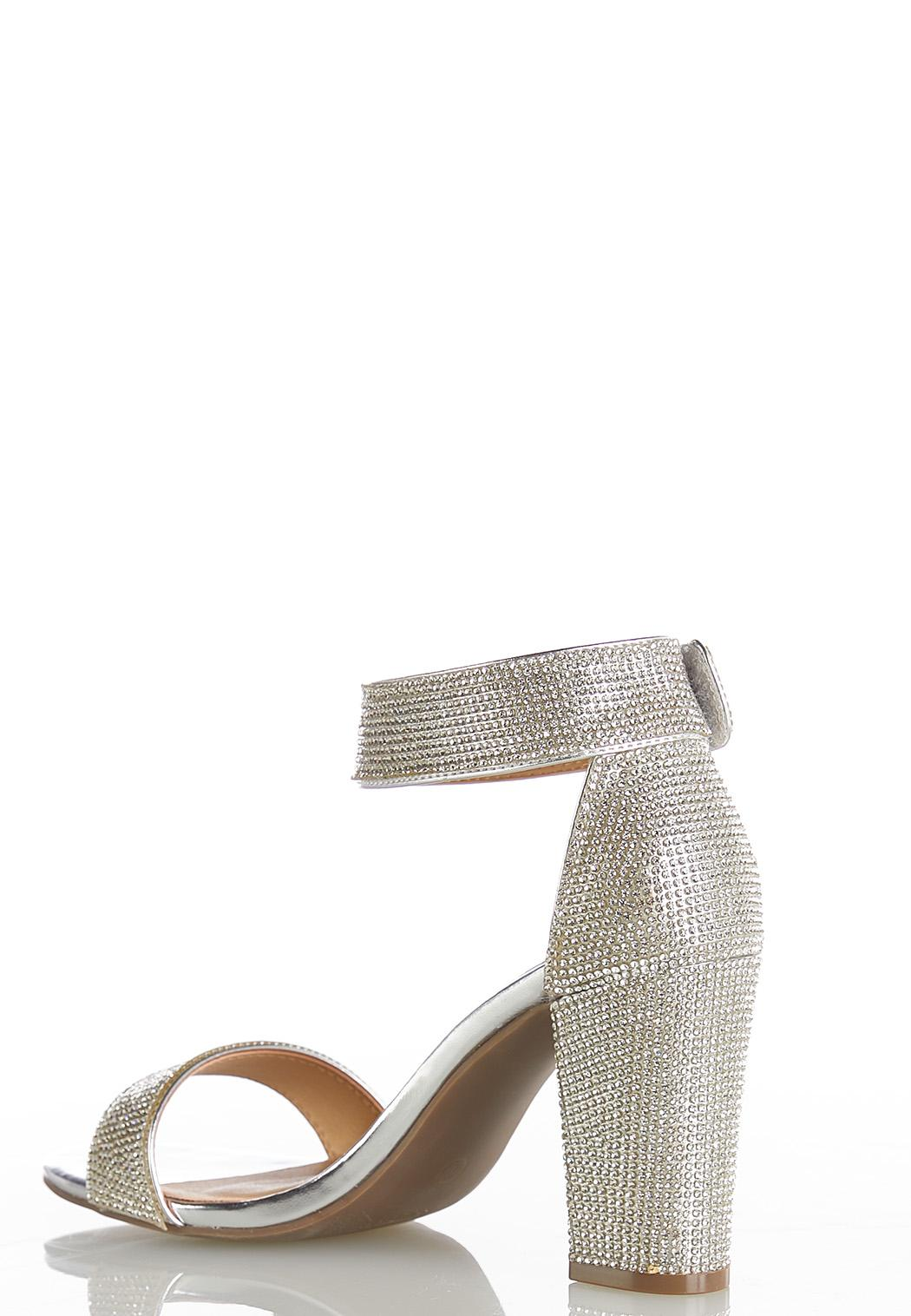 Sparkle Ankle Band Heels (Item #44414562)