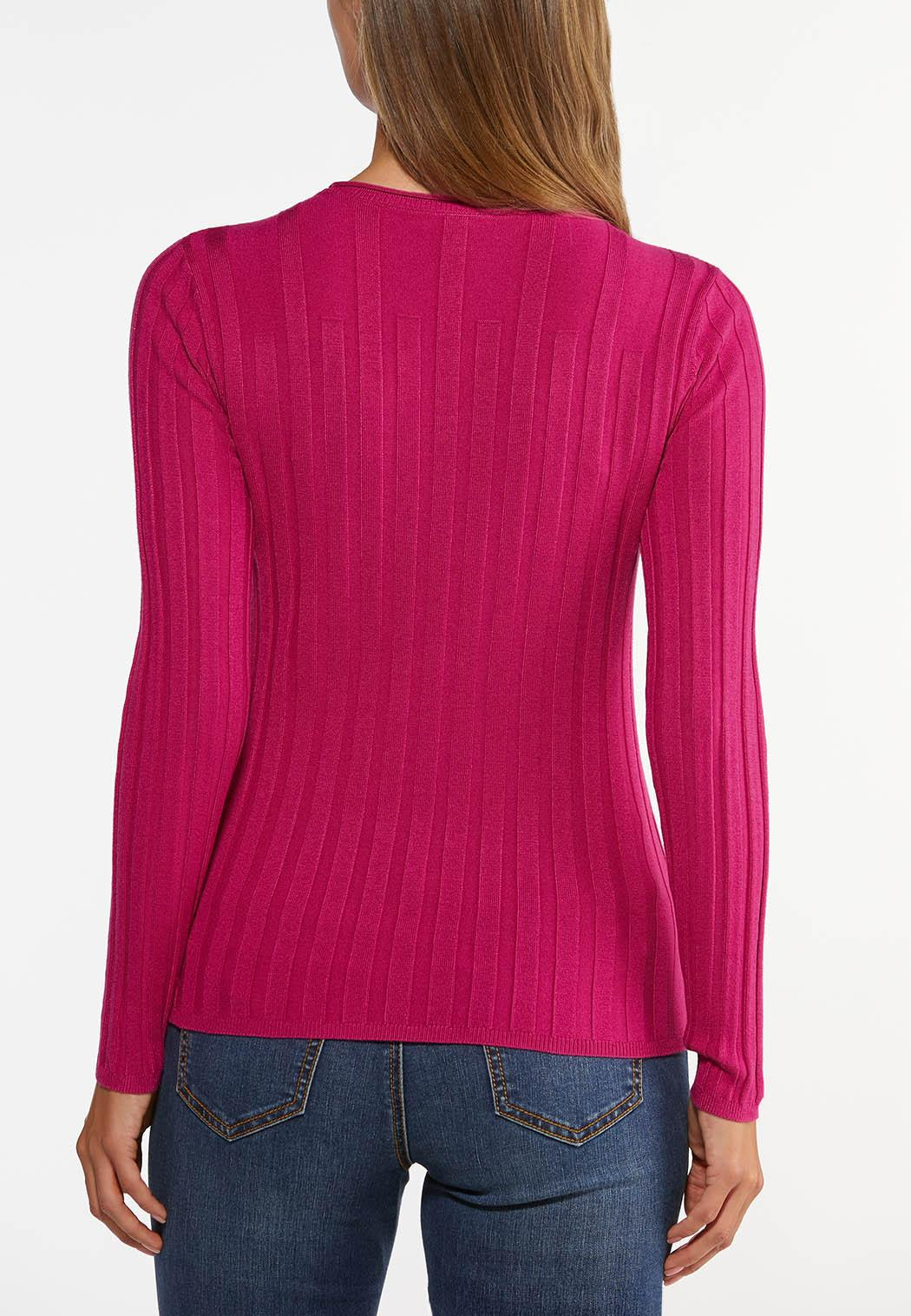 Ribbed Pullover Sweater (Item #44417277)