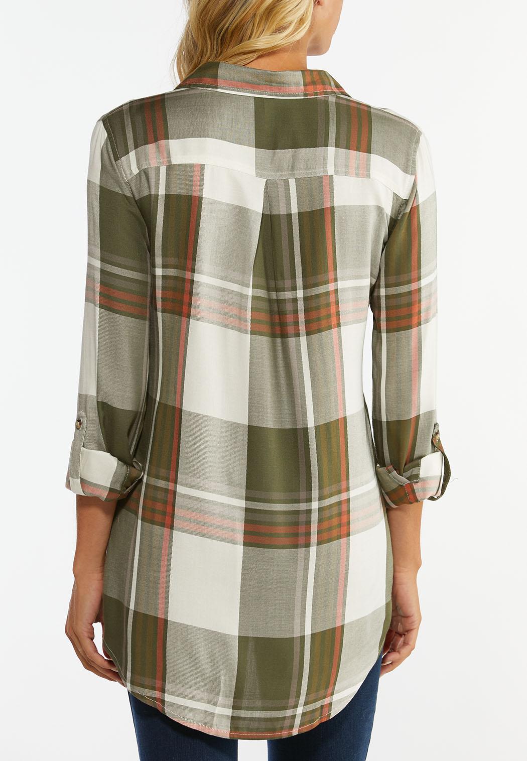 Green Plaid Tunic (Item #44418993)