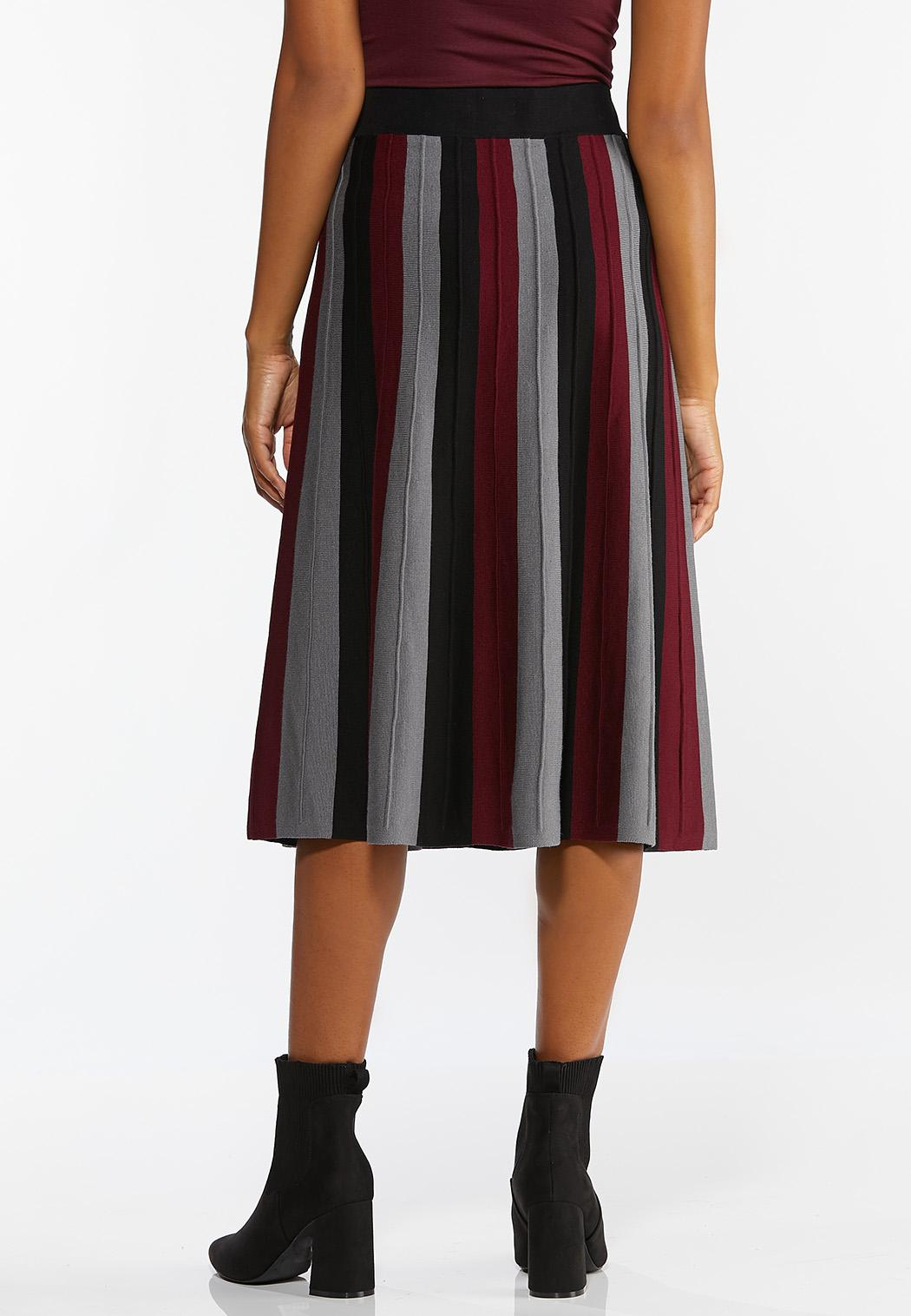 Stripe Sweater Skirt (Item #44420388)