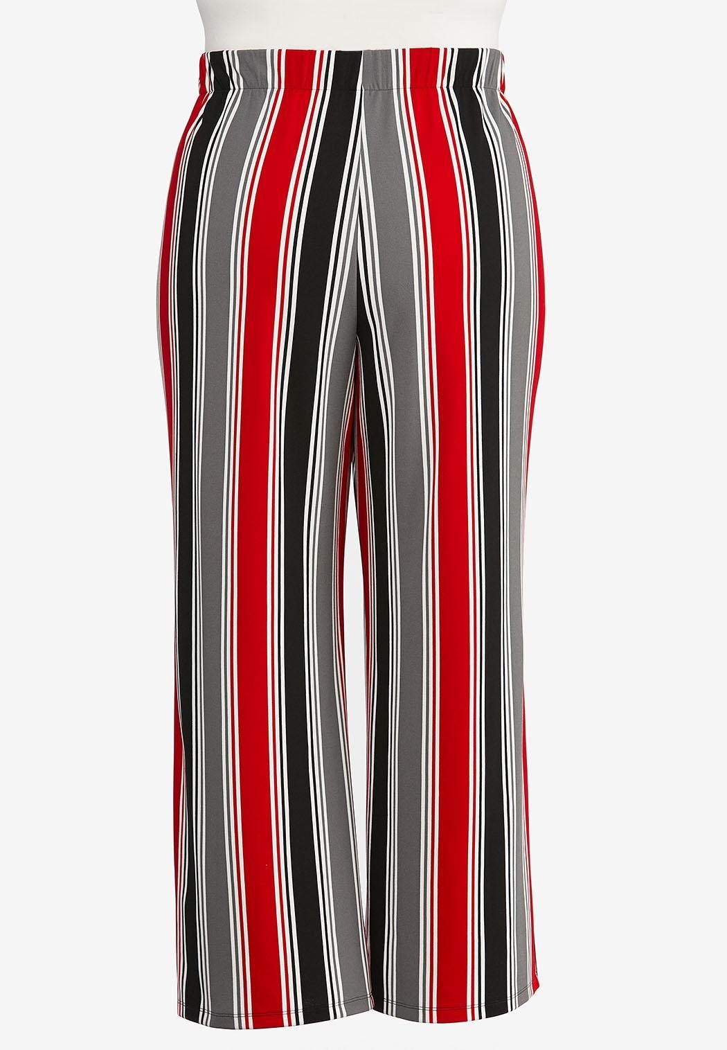Plus Petite Stripe Button Pants (Item #44420718)