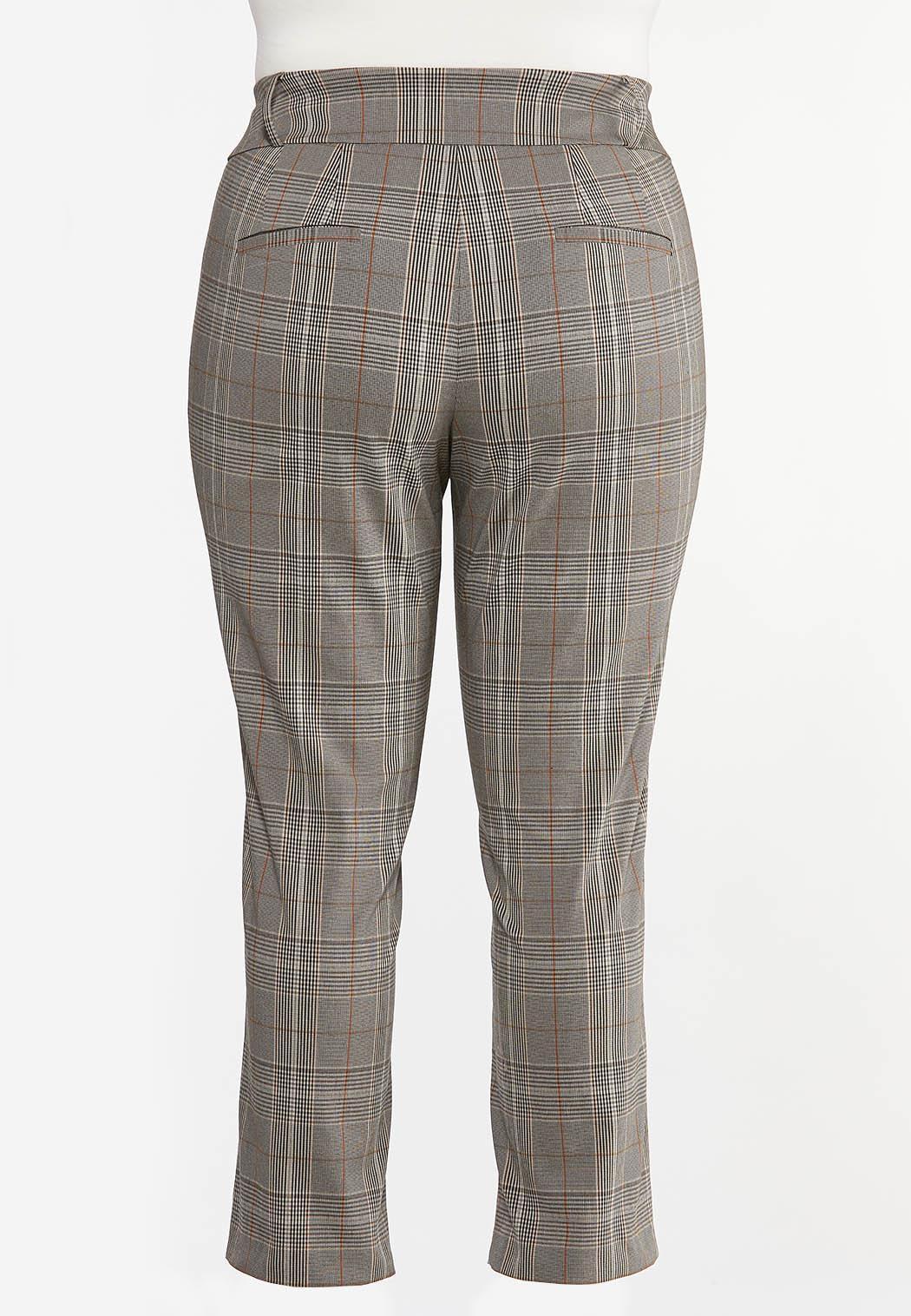 Plus Size Plaid Pants (Item #44423065)