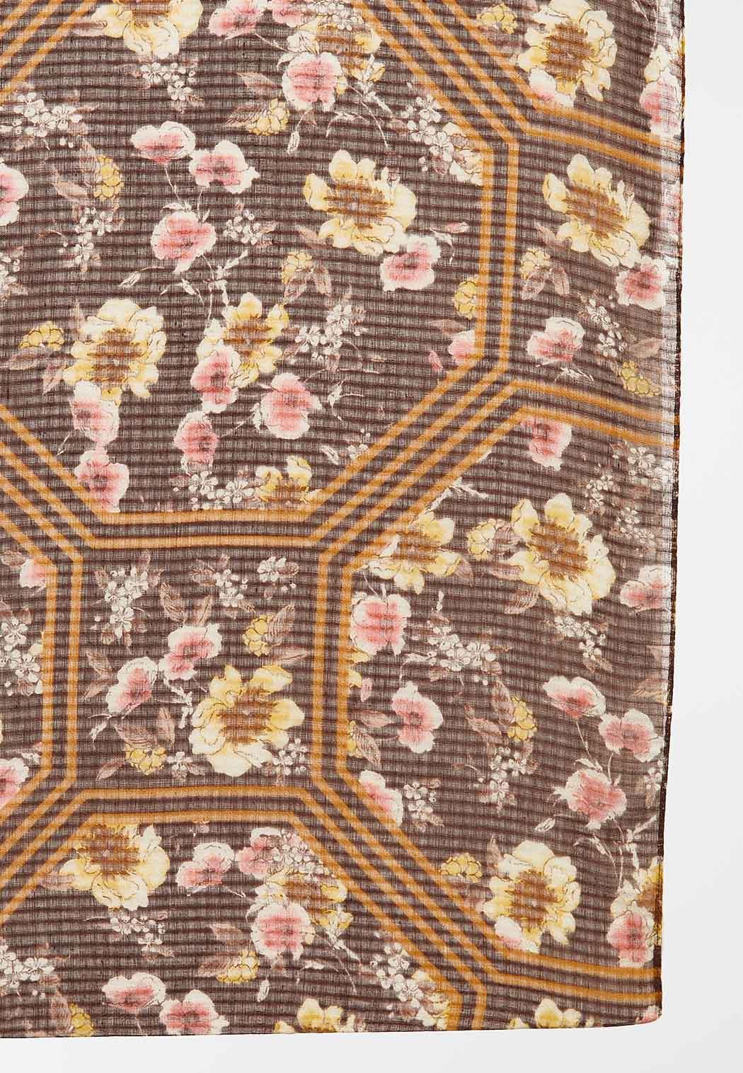 Vintage Floral Infinity Scarf (Item #44425328)