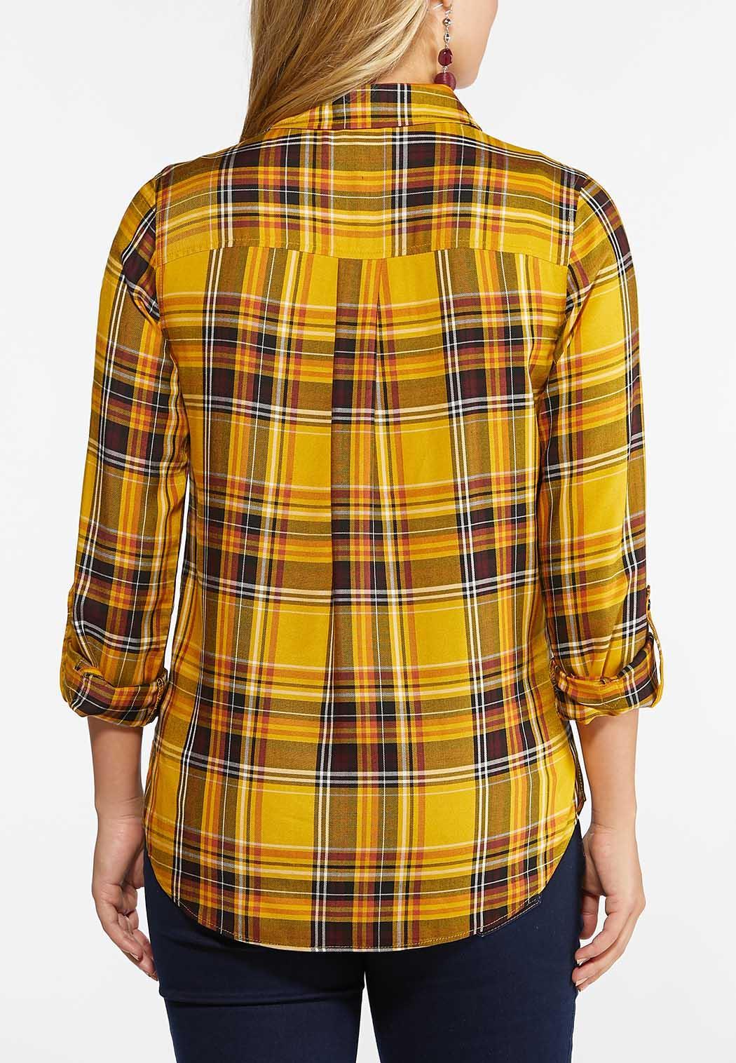 Gold Plaid Shirt (Item #44426017)