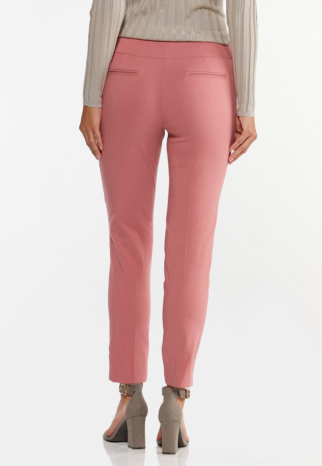 Dusty Rose Bengaline Pants (Item #44426106)