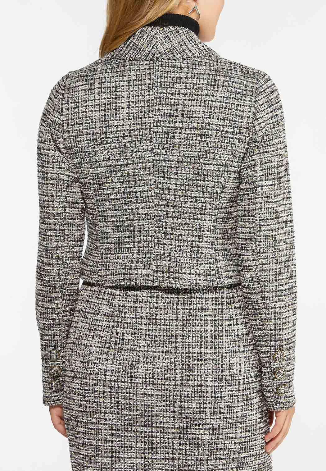 Boucle Cropped Jacket (Item #44427340)
