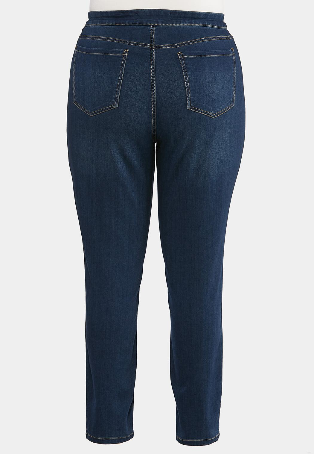 Plus Size Pull-On Jeggings (Item #44427374)
