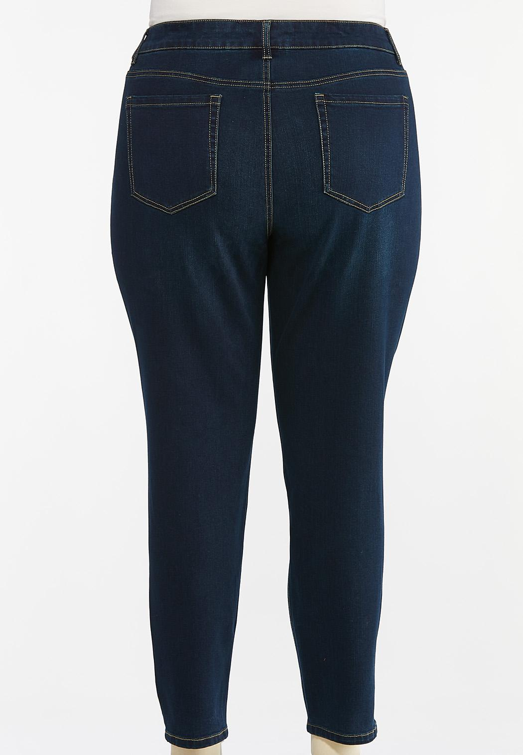 Plus Size Skinny Jeans (Item #44427455)