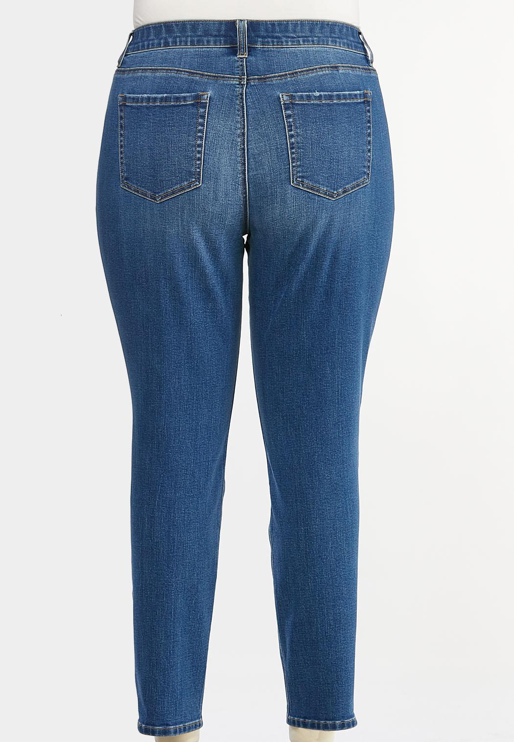 Plus Size Uplifting Skinny Jeans (Item #44427475)