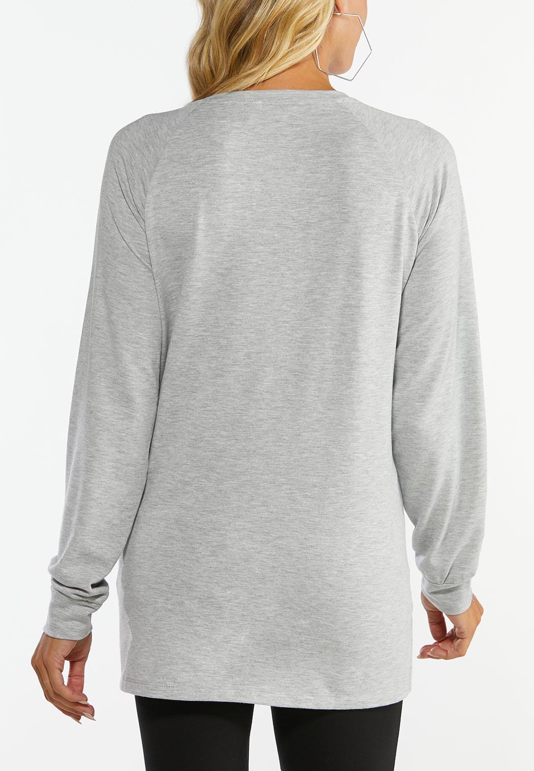 Plus Love Hacci Sweatshirt (Item #44427591)