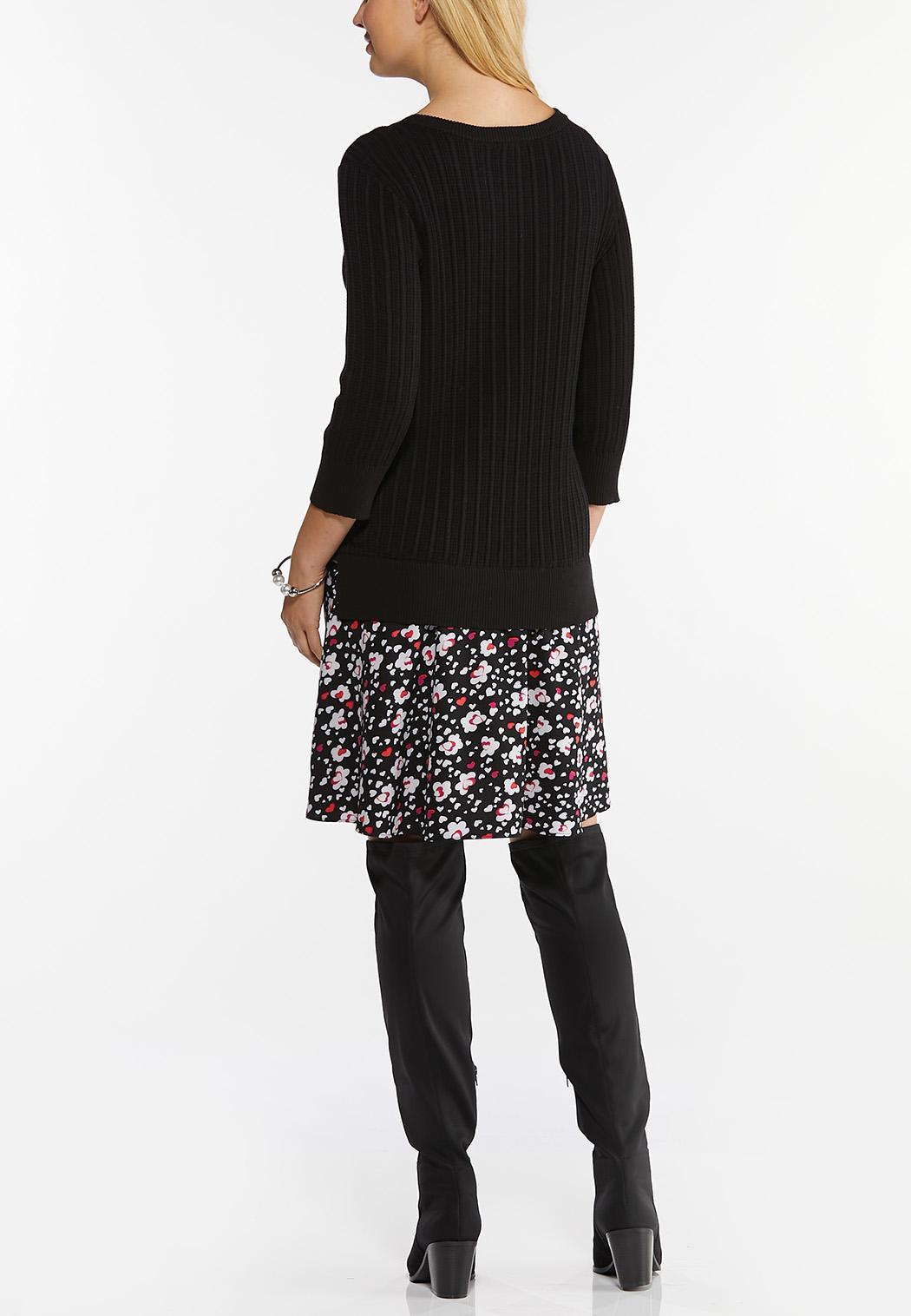 Tunic Sweater And Skirt Set (Item #44428455)