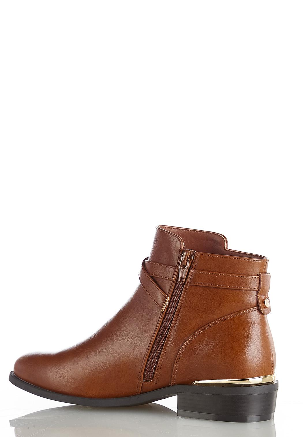 Buckle Strap Ankle Boots (Item #44431497)