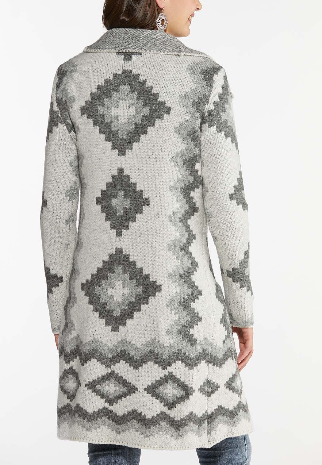 Aztec Cardigan Sweater (Item #44433144)
