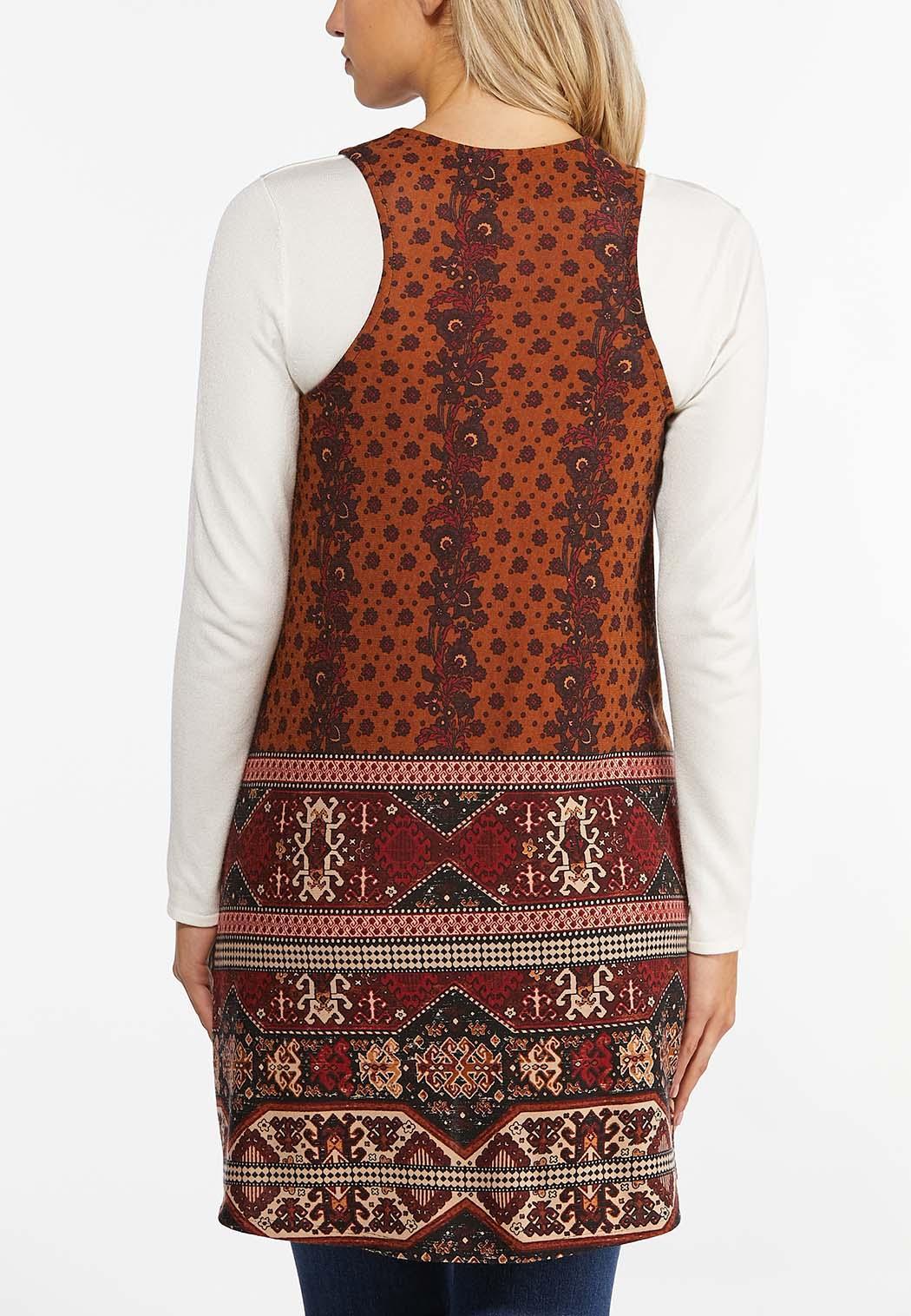 Fall Tribal Hacci Vest (Item #44436684)