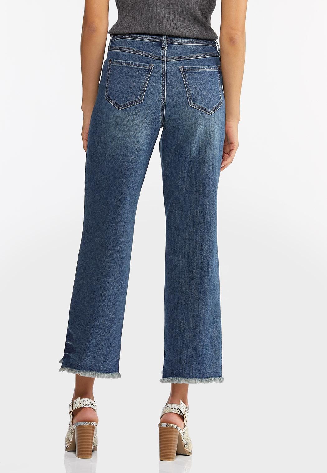 Distressed Ankle Jeans (Item #44436820)