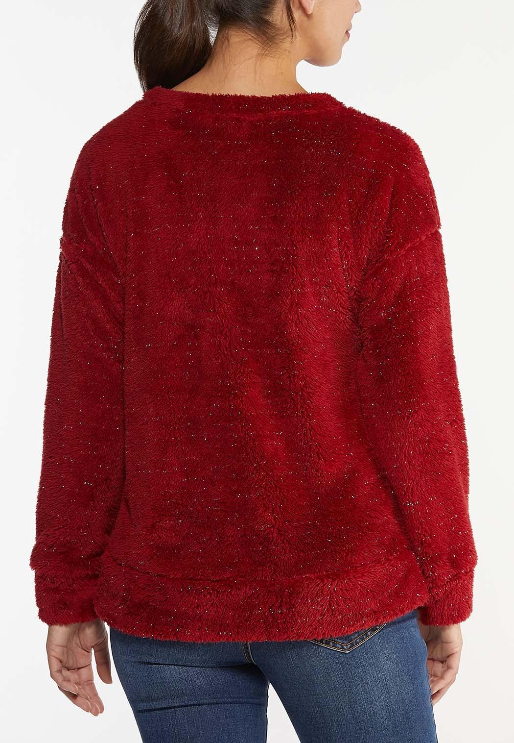Plus Size Cozy Lurex Top (Item #44437615)