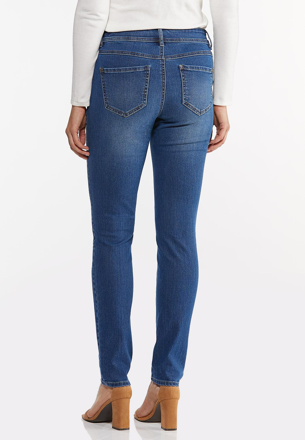 Double Button Jeggings (Item #44439792)