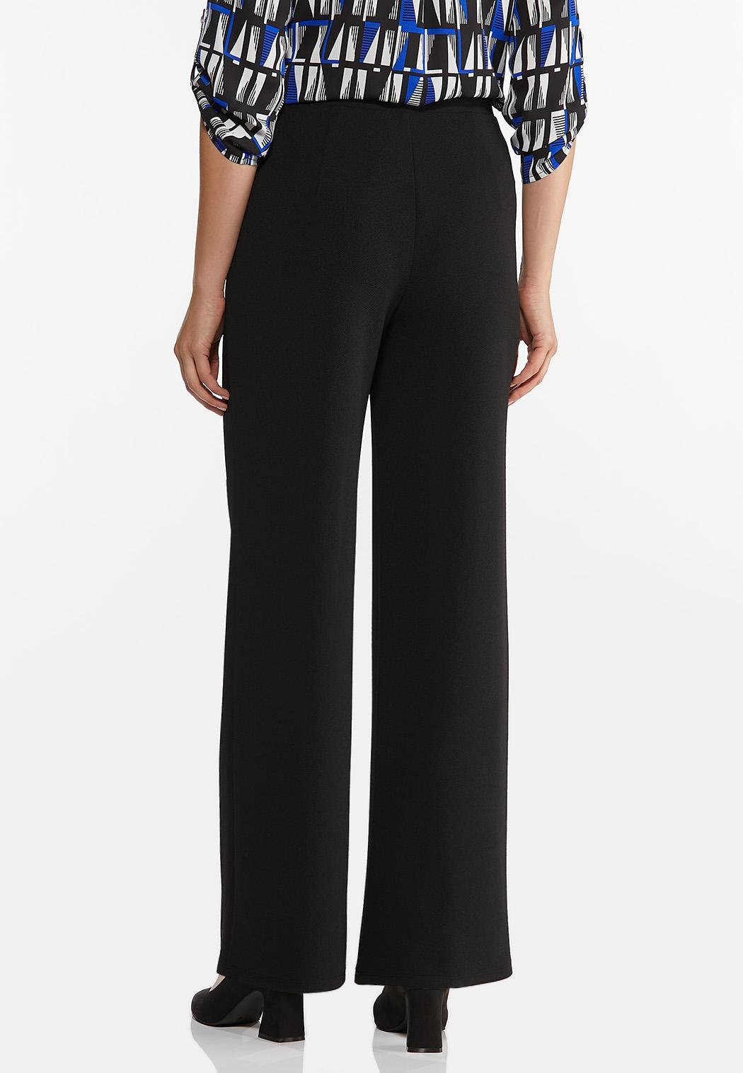 Petite Tie Waist Wide Leg Pants (Item #44440797)
