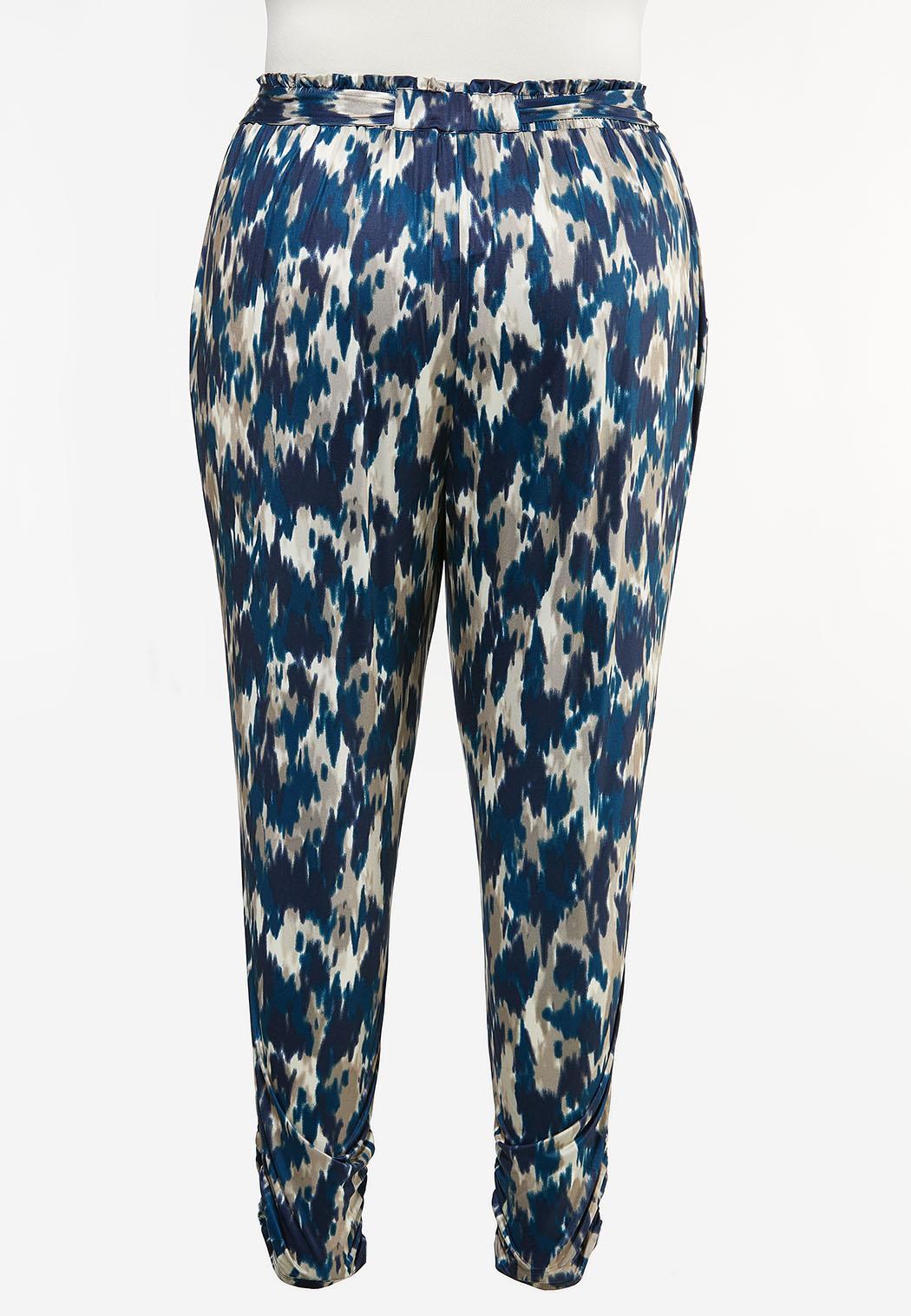 Plus Size Tie Dye Joggers (Item #44441566)