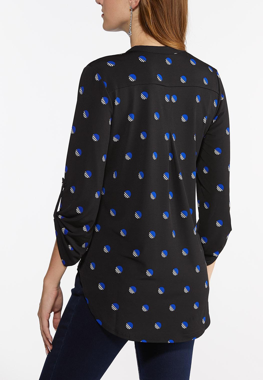 Plus Size Deco Top Pullover Top (Item #44441824)