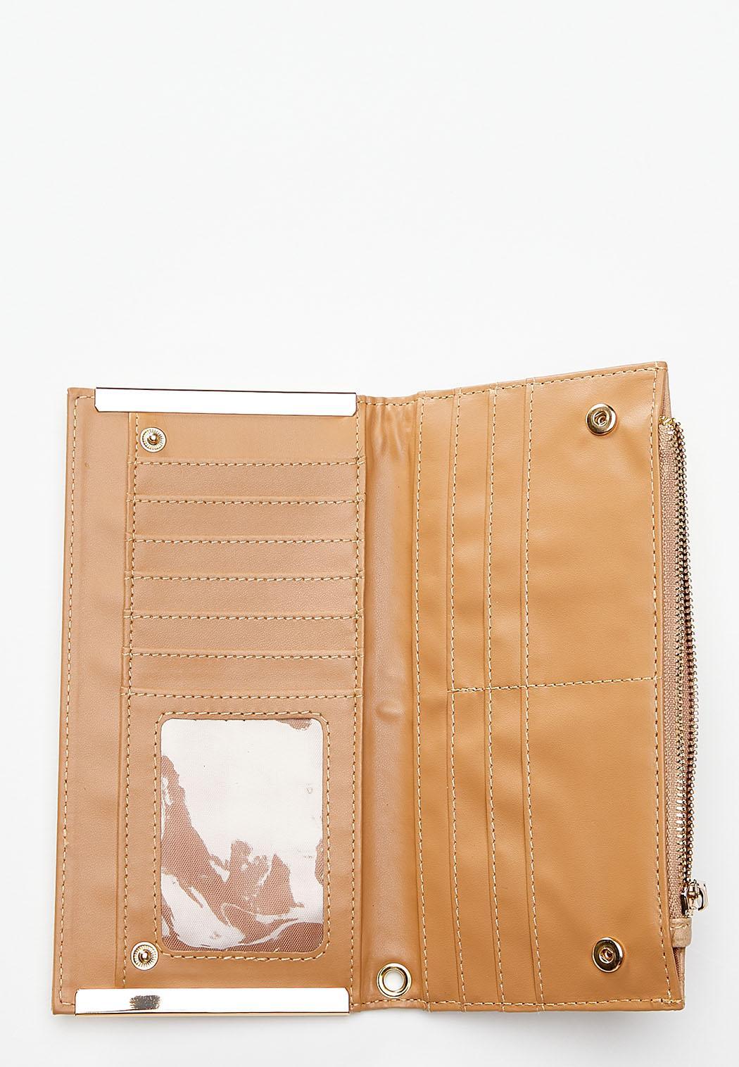 Gold Hardware Snakeskin Wallet (Item #44444747)