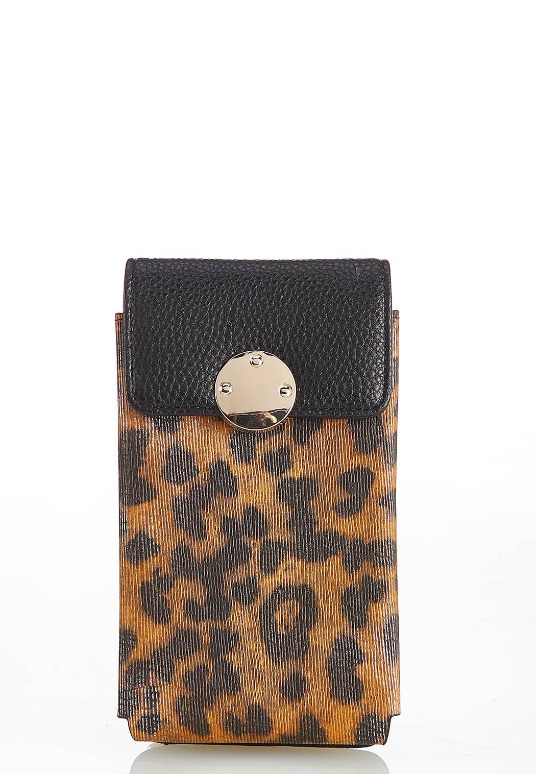 Leopard Cellphone Crossbody (Item #44444897)