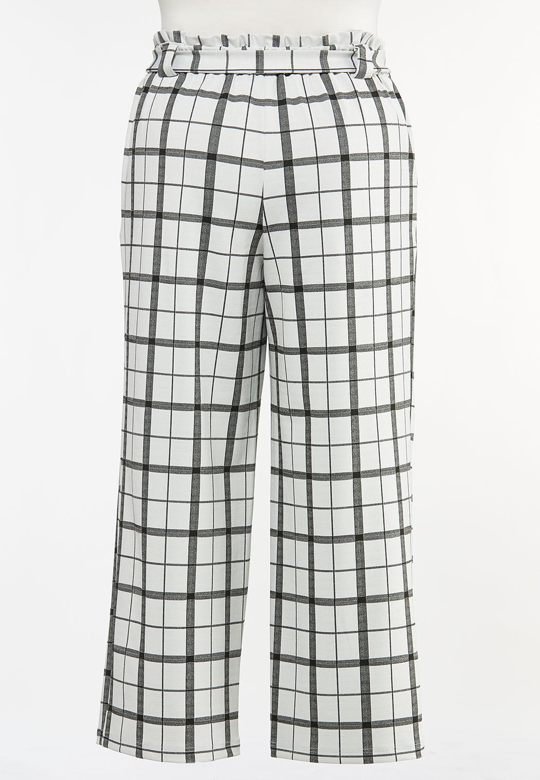 Plus Petite Paperbag Trouser Pants (Item #44446601)