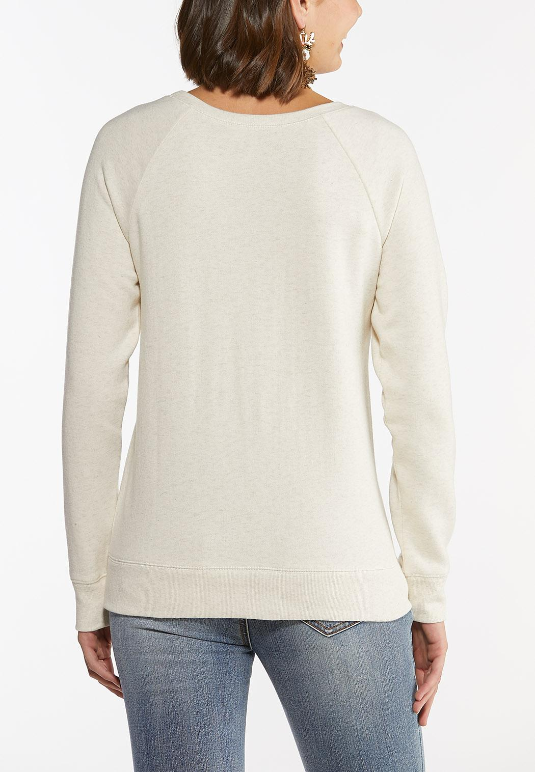 Plus Size All I Want For Christmas Sweatshirt (Item #44447205)