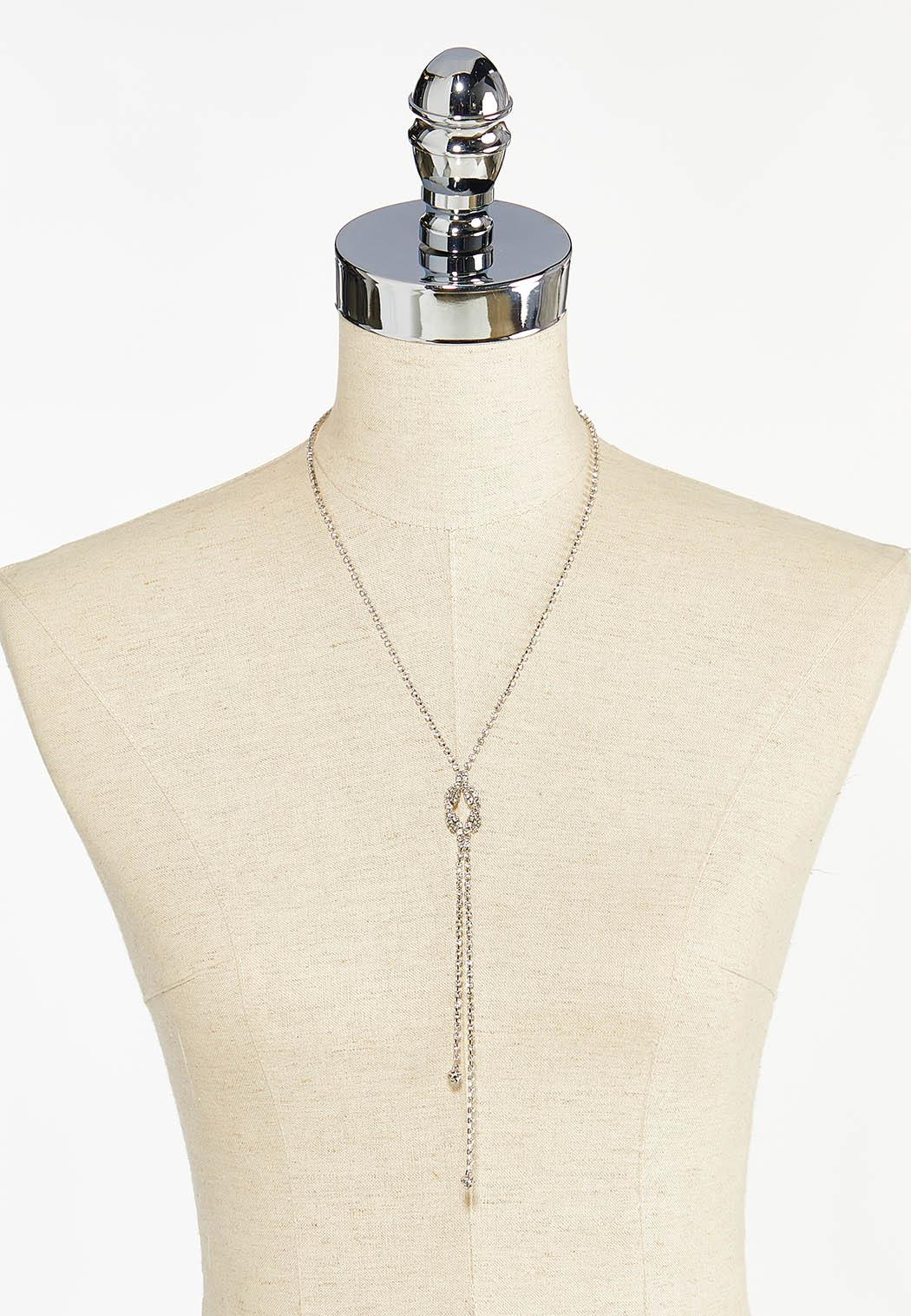 Rhinestone Cupchain Necklace (Item #44448587)