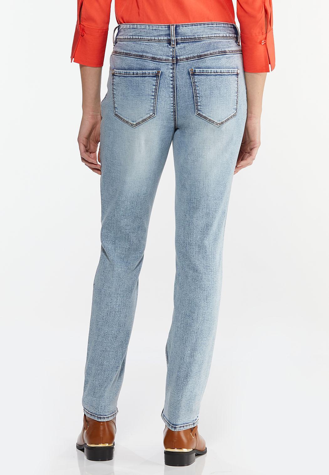 Lightwash Skinny Jeans (Item #44449616)