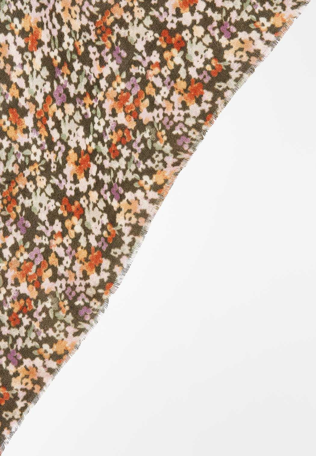 Floral Bloom Triangle Scarf (Item #44449625)